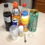 Percobaan Menentukan Kadar Gula Dalam Minuman