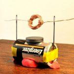 Percobaan Membuat Elektromotor Sederhana