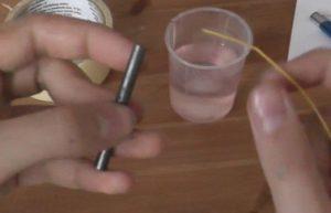 Percobaan Membuat Gas Klorin