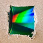 Percobaan Membuat spektroskop dari CD Bekas